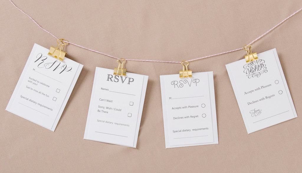How our wedding invitation design service works