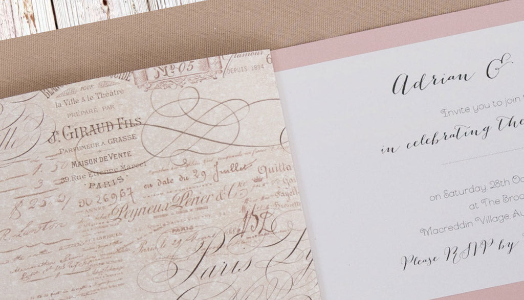 Wording suggestions for wedding invitations