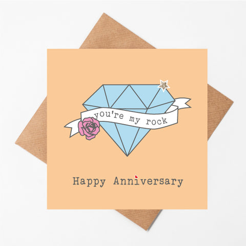 You Are My Rock Anniversary
