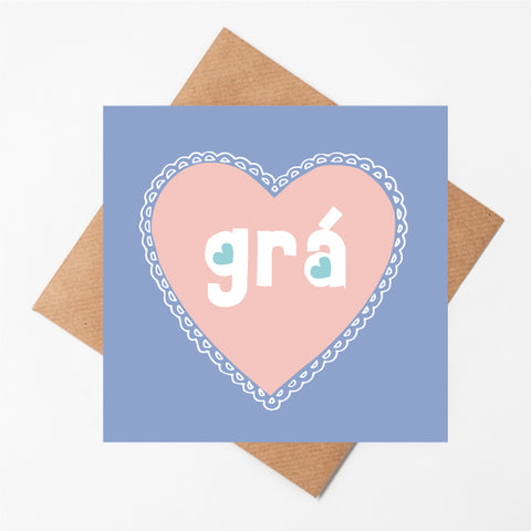 Grá - Irish Love Card
