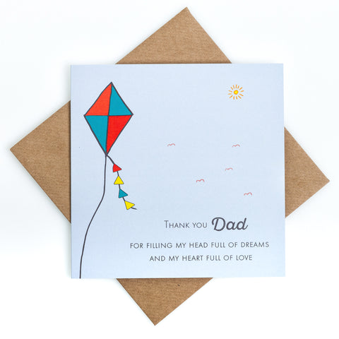 Kite Father's Day Card