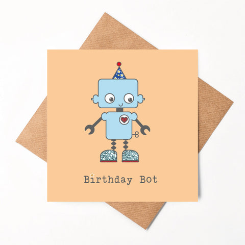 Birthday Bot Card