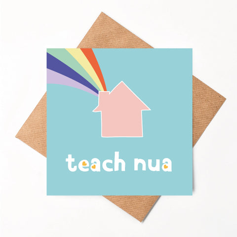 Teach Nua - Irish New Home Card