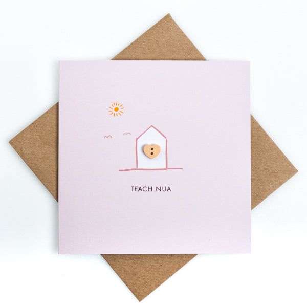 Craft Teach Nua - Irish New Home Card