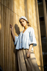 FM-Chambray Bleached   € 14 /m