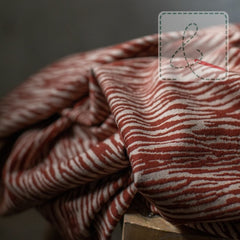 Mind The Maker - Organic Bark Jacquard Sienna -  € 28/m