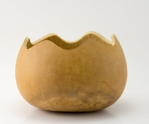 Gourd Bowls, Craft Ready, 1 Bowl - Gourdaments