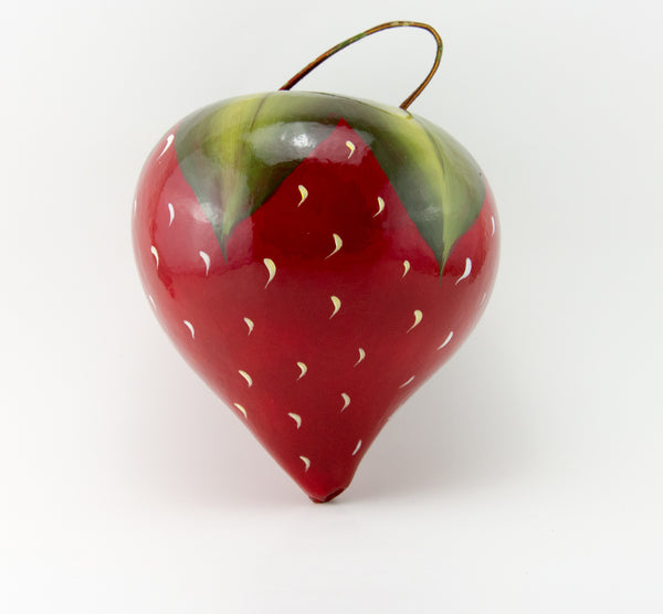 Strawberry Gourd Birdhouse - Gourdaments