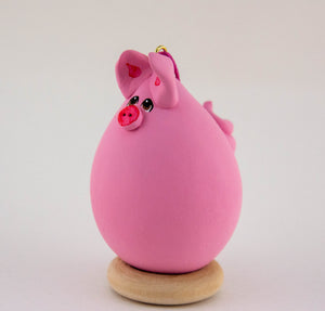 Pig Ornament - Gourdaments