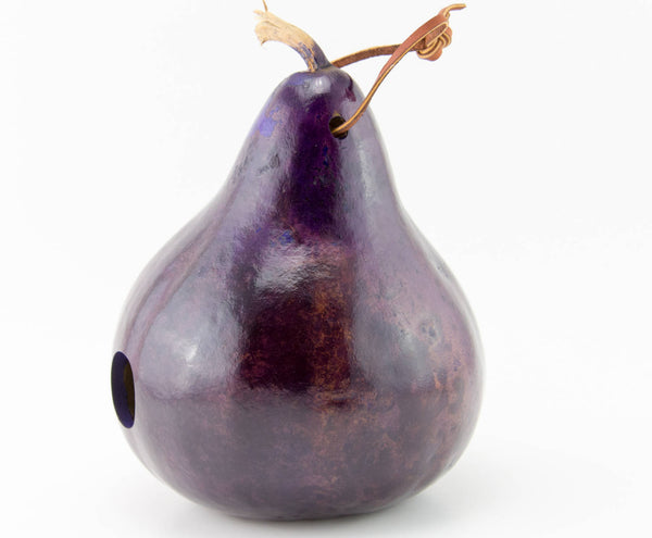 Gourd Birdhouse, Purple, Wrenhouse, Bird House, Gourd Art, Garden Art, Outdoor Ornament,  Mother's Day Gift, Purple Lovers Birdhouse - Gourdaments