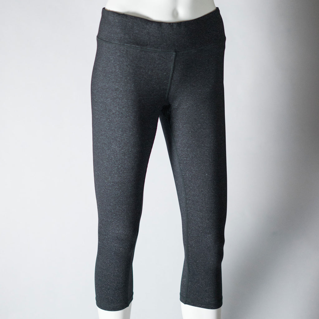Heather Cropped Leggings