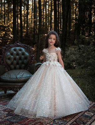 Buy Aruba lace flower girl dress
