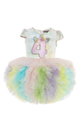 Buy Rainbow Unicorn Birthday Dress