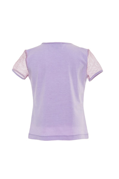 Purple Girls T Shirt