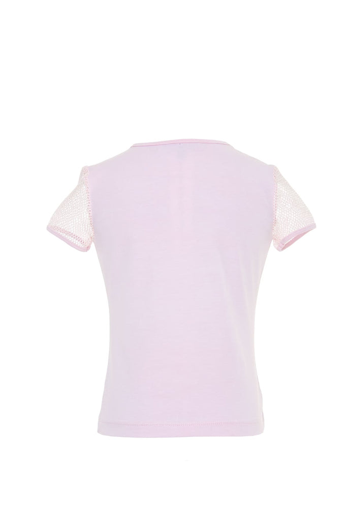 Pink Girls T Shirt