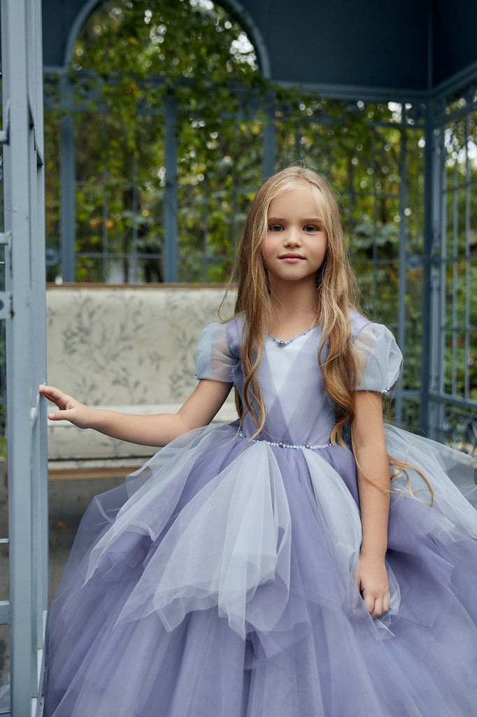AB033 Pixie Flower Girl Dress - Mia Bambina Boutique