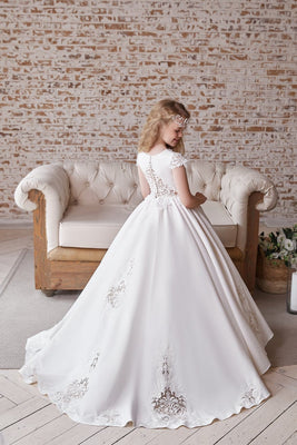 Buy AB047 A-line princess Gown - Mia Bambina Boutique