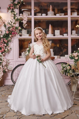 Buy AB050 Sparkly Ball Gown - Mia Bambina Boutique