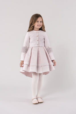 Buy Leah Girls' Dress Set (Dress & Jacket)