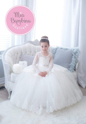 Buy Angelina First Communion Dress - Mia Bambina Boutique