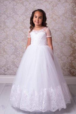 Buy Columbus Girls First Communion Dress - Mia Bambina Boutique