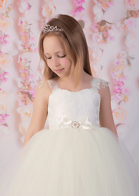 Buy Crystal Tiara for First Communion - Mia Bambina Boutique