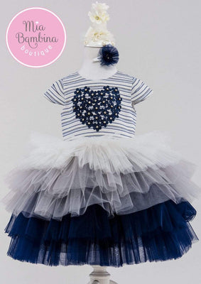 Buy Ivonna Birthday Dress for Girls - Mia Bambina Boutique