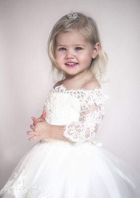Buy Little Girls Crown Headpiece - Mia Bambina Boutique