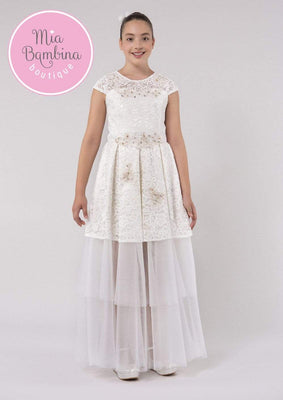 Buy Long Lace Teen Dress by Mia Bambina Boutique