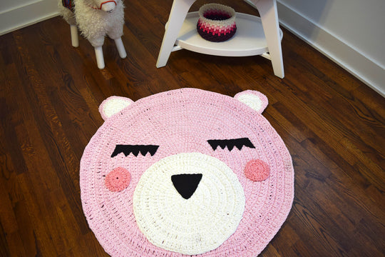 The Cute Bear Rug