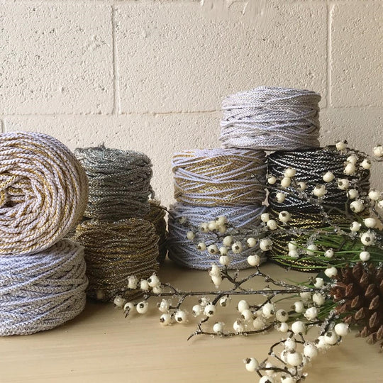 Ganxxet cotton rope for Christmas home decor