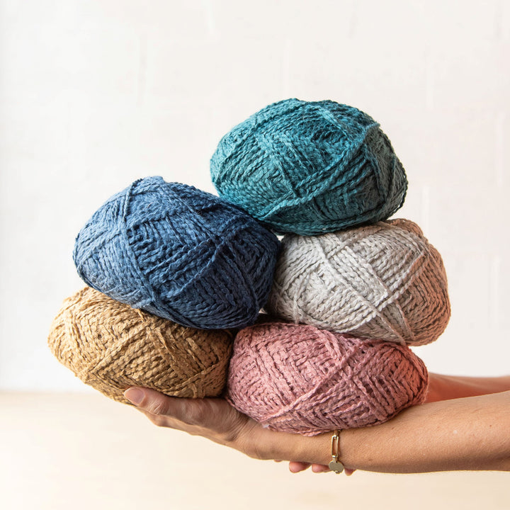 Ganxxet cotton candy for knitters, crocheters and weavers