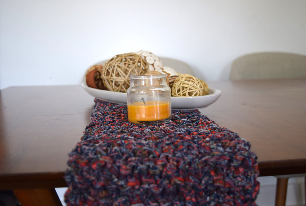 ganxxet fabric yarn table runner