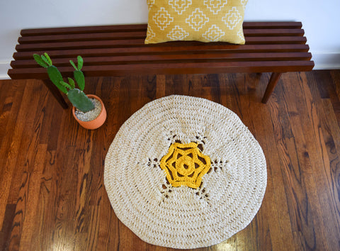 Ganxxet fabric yarn rug