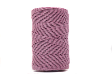 COTTON ROPE 2 MM - 3 PLY - PRIMROSE PINK COLOR