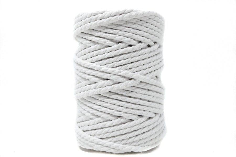 COTTON ROPE 5 MM - 3 PLY - WHITE COLOR