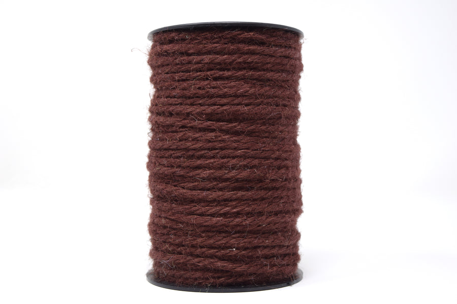 JUTE - 3 MM - BROWN COLOR
