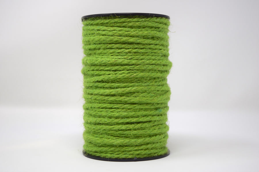 JUTE - 3 MM - AVOCADO GREEN COLOR