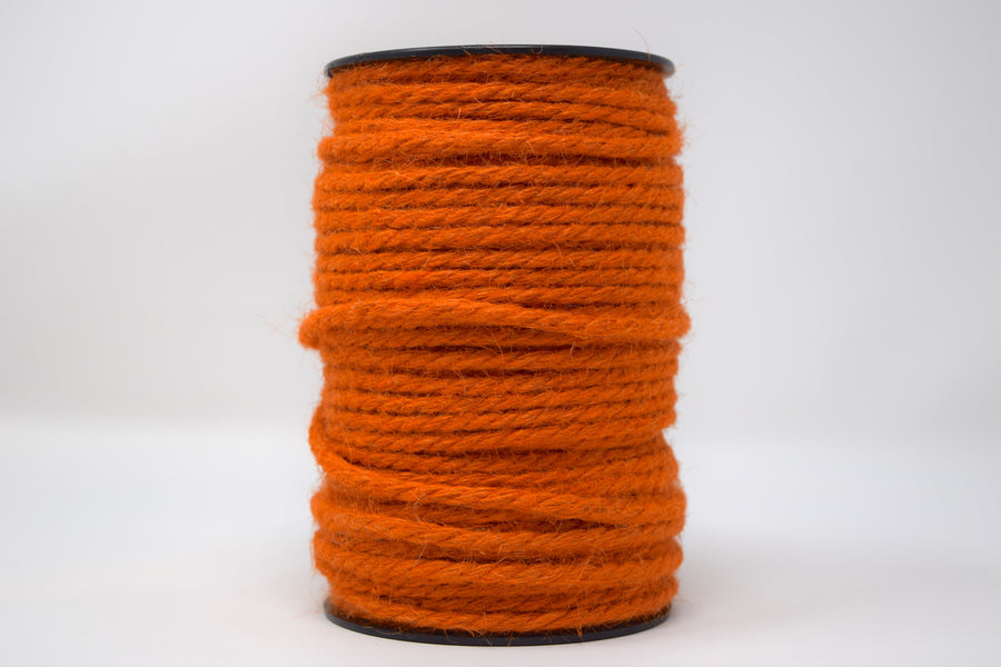 JUTE - 3 MM - ORANGE COLOR