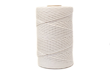 soft cotton cord 6mm - Natural Color