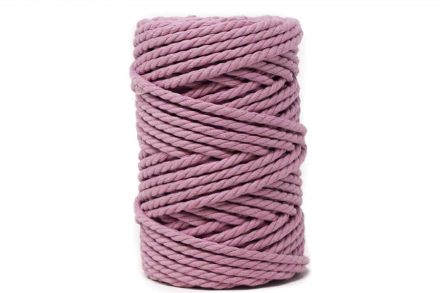 COTTON ROPE ZERO WASTE 5 MM - 3 PLY - PRIMROSE PINK COLOR