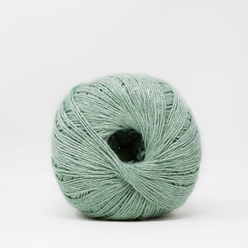 LINEN FLAMÉ - 3 STRANDS - MINT COLOR