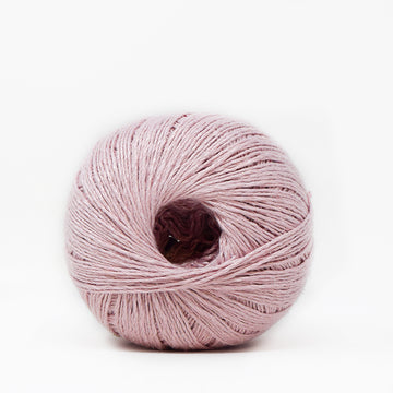 LINEN FLAMÉ - 3 STRANDS -  SOFT PINK COLOR