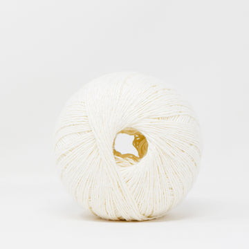 LINEN FLAMÉ - 3 STRANDS -  WHITE COLOR