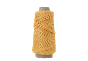 NATURAL LINEN - 1.5 MM - SUNFLOWER YELLOW COLOR