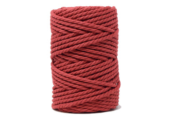 COTTON ROPE ZERO WASTE 5 MM - 3 PLY - AMOUR COLOR
