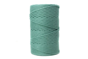 JUMBO SOFT COTTON CORD ZERO WASTE 8 MM - 1 SINGLE STRAND - JADE COLOR