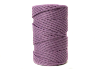 JUMBO SOFT COTTON CORD ZERO WASTE 8 MM - 1 SINGLE STRAND - LAVENDER COLOR