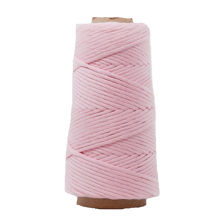 COMBED COTTON CONE 4 MM - BABY PINK COLOR
