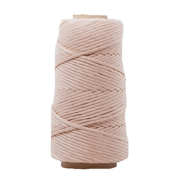 COMBED COTTON CONE 4 MM - MARSHMALLOW COLOR